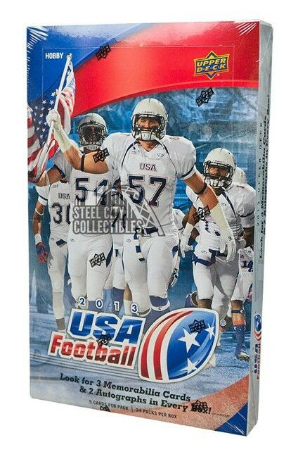 Upper Deck - 2013 - USA Football - Hobby Box