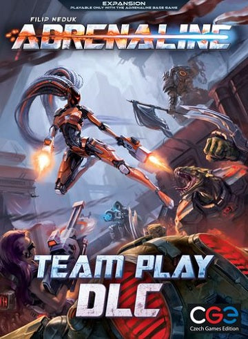Czech Games - Adrenaline - Team Play DLC Board Game Expansion