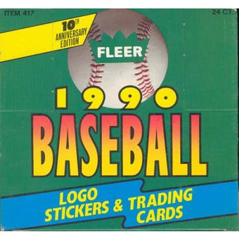 Fleer - 1990 - Baseball - Hobby Box