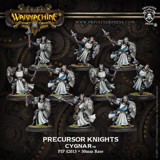 Warmachine - Cygnar - Precursor Knights Ally Unit - PIP 42013