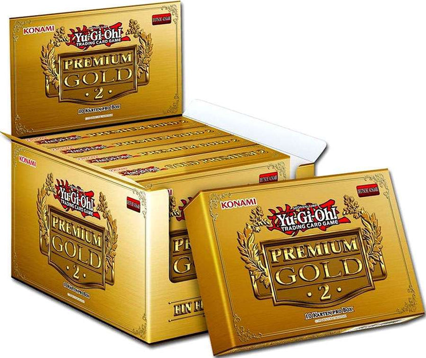 Yu-gi-oh! Premium Gold Return of the Bling Display Box Konami | Cardboard Memories Inc.