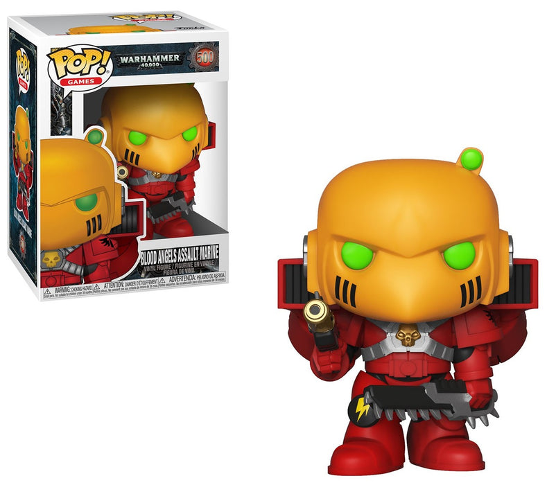 POP! - Warhammer 40K - Blood Angels Assault Marine