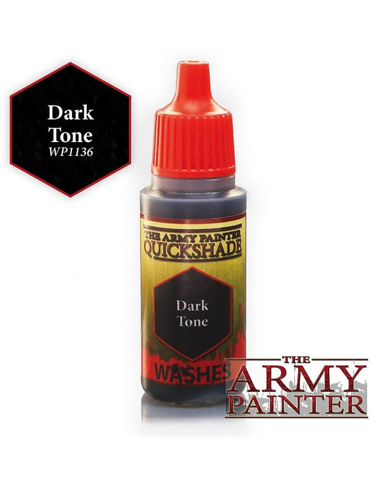 Army Painter Warpaints - Dark Tone WP1136 The Army Painter | Cardboard Memories Inc.