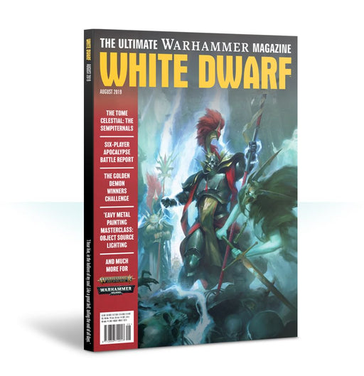 Games Workshop - White Dwarf August 2019