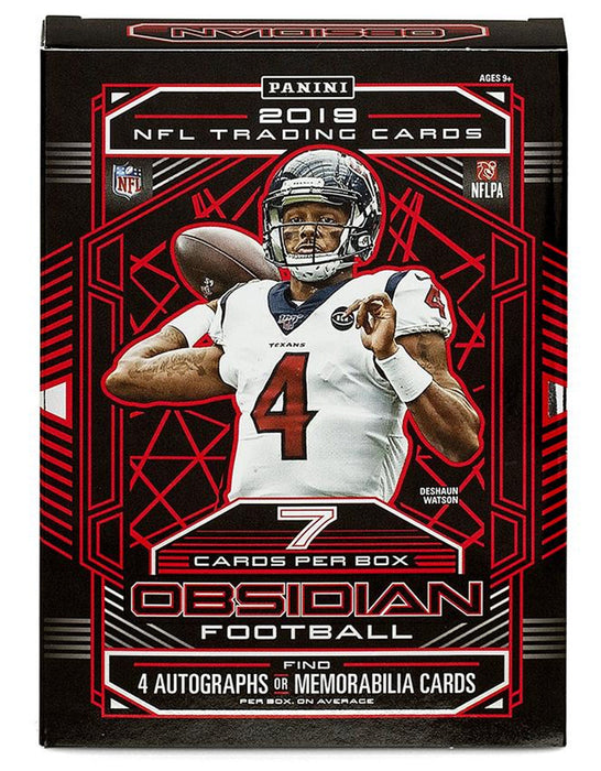 Panini - 2019 - Football - Obsidian - Hobby Box