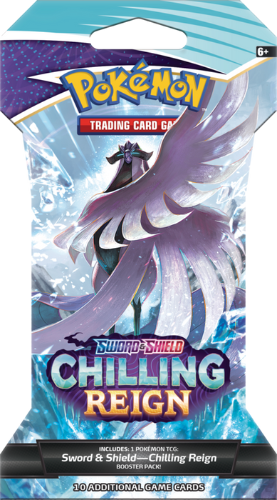 Pokemon - Sword and Shield - Chilling Reign - Blister Pack - Pre-Order TBA 2021