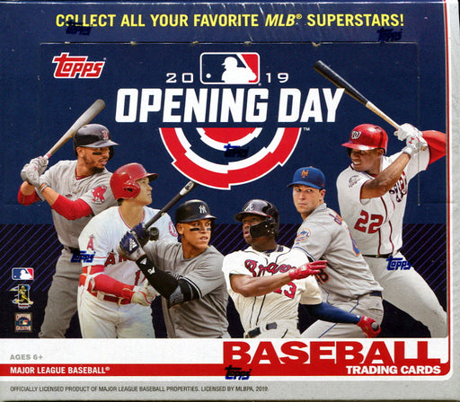 2019 Topps - Opening Day - Retail Box