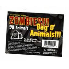 Zombies!!! Bag O' Zombie Animals Twilight Creations | Cardboard Memories Inc.