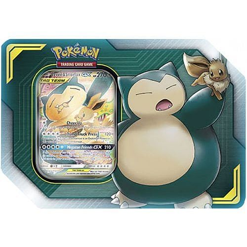 Pokemon - Eevee & Snorlax-GX - Tin