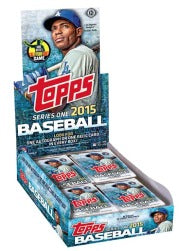 2015 Topps Baseball Series 1 Hobby Box Topps | Cardboard Memories Inc.