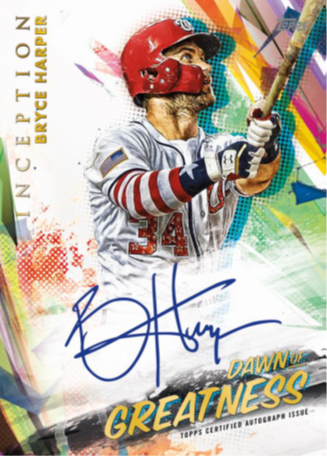 Topps - 2020 - Baseball - Inception - Hobby Box - Pre-Order March 18th 2020