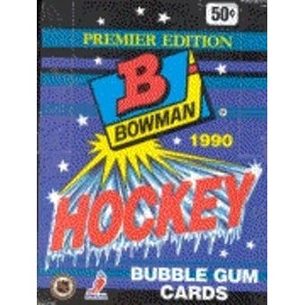 Topps - 1990-91 - Hockey - Bowman - Hobby Box