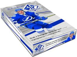 2014-15 Upper Deck SP Authentic Hockey Hobby Box Upper Deck | Cardboard Memories Inc.