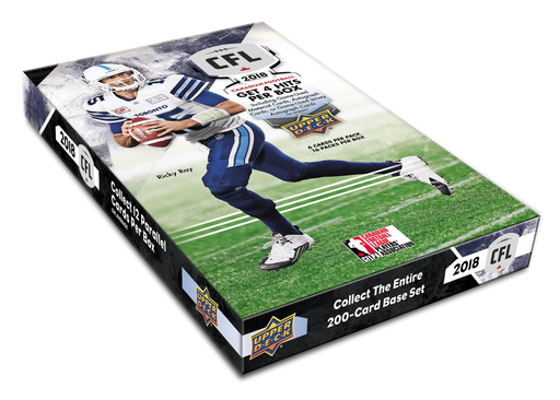 Upper Deck - 2018 - CFL Football - Hobby Box