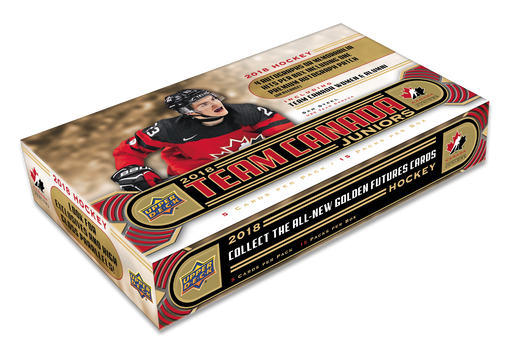 2018 Upper Deck Team Canada Juniors Hockey Hobby Box