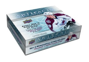 2014-15 Upper Deck Artifacts Hockey Hobby Box Upper Deck | Cardboard Memories Inc.