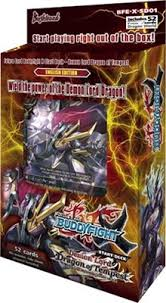 Buddyfight Demon Lord Dragon of Tempest Starter Deck Bushiroad | Cardboard Memories Inc.