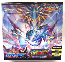 Buddyfight X Rainbow Striker Booster Box Bushiroad | Cardboard Memories Inc.