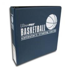 Binder 3 Inch Basketball Navy Ultra Pro | Cardboard Memories Inc.