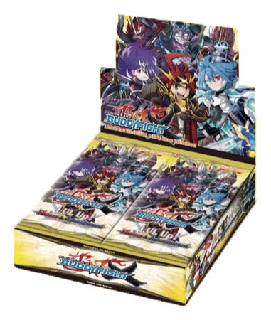 Buddyfight X LVL Up! Heroes & Adventures! Booster Box Bushiroad | Cardboard Memories Inc.
