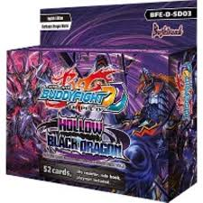 Buddyfight Triple D - Hollow Black Dragon Starter Deck Vol. 3 Bushiroad | Cardboard Memories Inc.