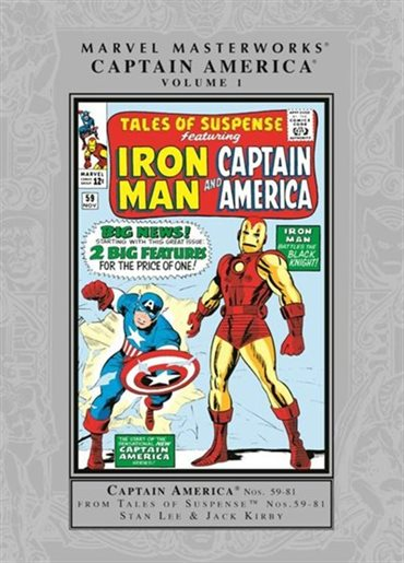 Marvel Comics - Marvel Masterworks Captain America - Volume 1