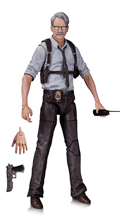 DC - Collectibles - Batman Arkham Knight - Commissioner Gordon Action Figure