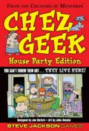 Chez Geek - House Party Edition Steve Jackson Games | Cardboard Memories Inc.