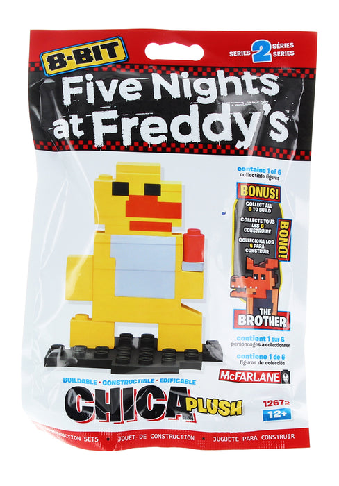 McFarlane Toys - Five Nights at Freddys 8-Bit Buildable Figure: Chica Plush