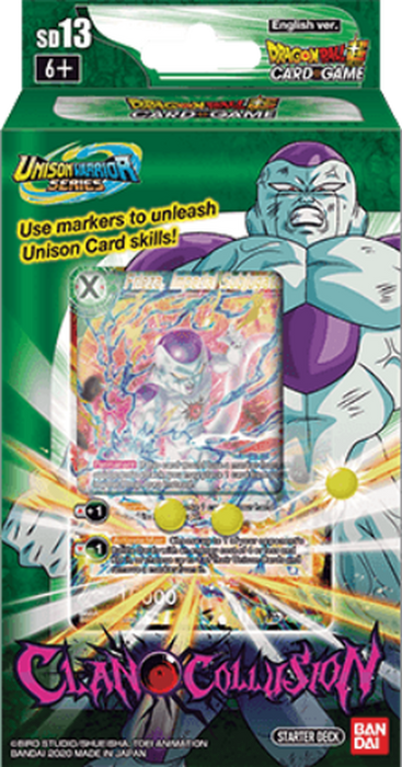 Bandai - Dragon Ball Super - Clan Collusion - Starter Deck