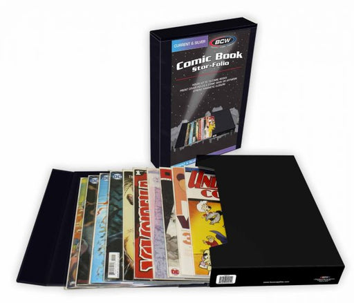 BCW - Comic Book Stor-Folio - Black