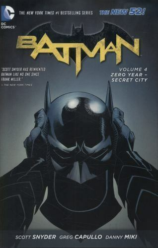 DC Comics - Batman - Zero Year-Secret City - Volume 4 - Hardcover
