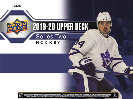 Upper Deck - 2019-20 - Hockey - Series 2 - 12 Box Hobby Case