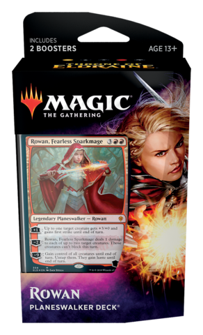 Magic the Gathering - Throne of Eldraine - Planeswalker Deck - Rowan