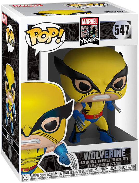 POP! - Marvel - Wolverine - First Appearance 80th