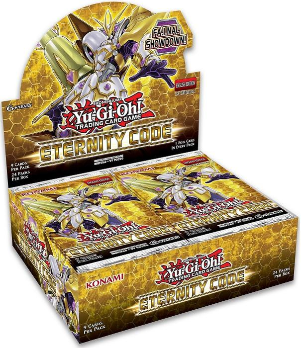 Konami - Yu-Gi-Oh! - Eternity Code - 12 Box Booster Case