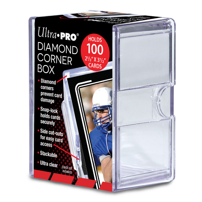 Ultra Pro - 2 Piece Box - 100 Count Diamond Corner Box