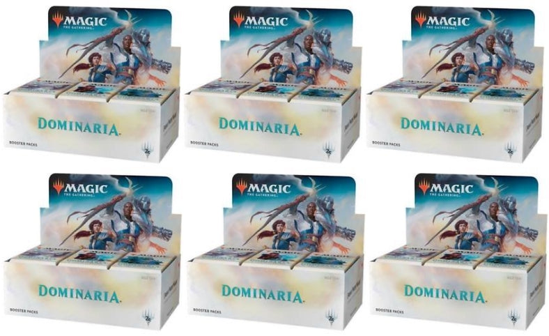 Magic the Gathering Dominaria Booster Case (PRE-ORDER APRIL 27TH) Magic The Gathering | Cardboard Memories Inc.