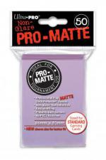 Deck Protectors - Standard Size - 50 Count Matte Lilac Ultra Pro | Cardboard Memories Inc.