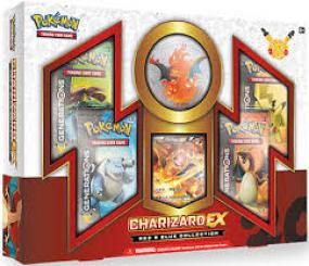 Pokemon Red & Blue Collection Box - Charizard-EX Pokemon | Cardboard Memories Inc.