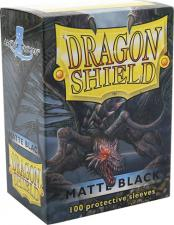 Dragon Shield Sleeves - Matte Black Arcane Tinmen | Cardboard Memories Inc.