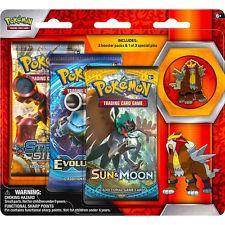 Pokemon Legendary Beasts 3-Pack & Pin Blister - Entei Pokemon | Cardboard Memories Inc.