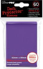 Deck Protectors - Small Yu-gi-oh! Size - 60 Count Purple Ultra Pro | Cardboard Memories Inc.