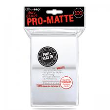 Deck Protectors - Standard Size - 100 Count Pro-Matte Clear Ultra Pro | Cardboard Memories Inc.