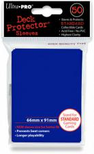 Deck Protectors - Standard Size - 50 Count Blue Sleeves Ultra Pro | Cardboard Memories Inc.