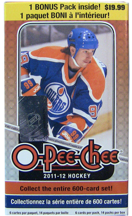 2011-12 Upper Deck-  O-Pee-Chee Hockey - Blaster Box