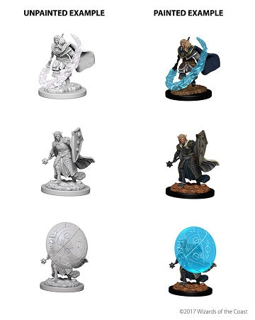 Wizkids - Dungeons and Dragons - Nolzurs Marvellous Miniatures - Elf Male Cleric - 73205