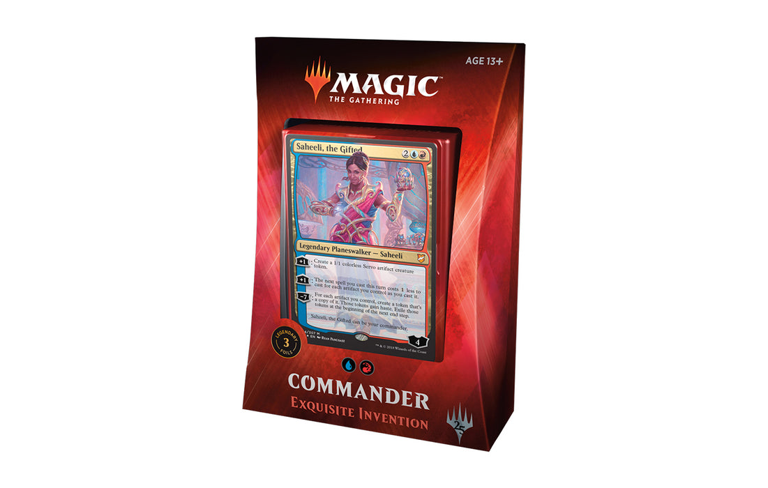 Magic The Gathering - 2018 Commander Deck - Exquisite Invention