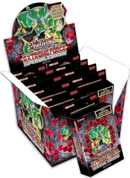Yu-Gi-Oh! Extreme Force Special Edition Display Box Konami | Cardboard Memories Inc.