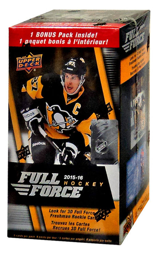 Upper Deck - 2015-16 - Hockey - Full Force - Blaster Box
